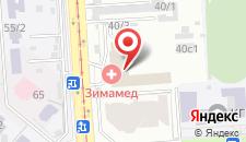 Отель Южный на карте
