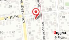 Отель Sun City на карте