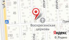 Отель Vista на карте