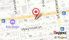 Гостевой дом Алтай на карте