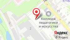 Малый отель КВАРТИРКИН на карте