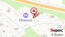 Отель Мороша на карте