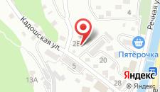 Гостевой дом на Кадошской на карте