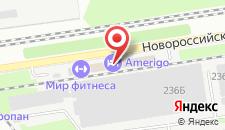 Гостиница Мир фитнеса на карте