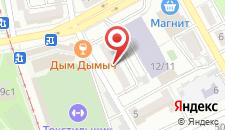 Апартаменты На Камвольной на карте