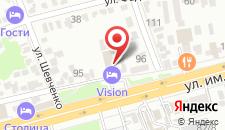 Гостиница VISION на карте