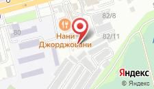 Отель Скрипка на карте