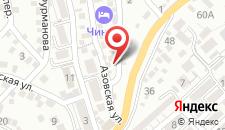 Гостиница Amigo на карте