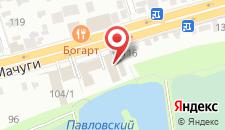 Гостиница Романтик на карте