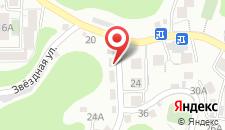 Гостиница Чайка на карте