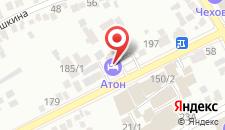 Гостиница Атон на карте