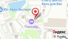 Отель Партнер на карте