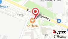 Гостиница O-HARA на карте