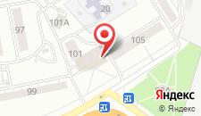 Гостиница Юго-Западная на карте