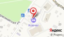 Гостиница Ковчег на карте
