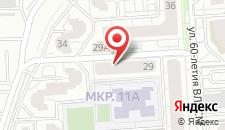 Апартаменты Алекс на Бульваре Победы 29 на карте
