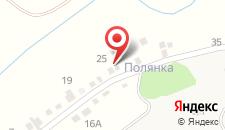 Гостиница Иваново озеро на карте