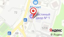 Гостиница Гостиный двор № 1 на карте