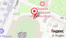 Хостел Стадион на карте
