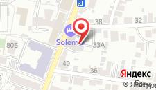 Гостиница Италия на карте