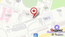Гостиница Новая на карте