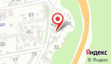 Гостевой дом Репина 4 на карте