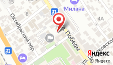 Отель Катран на карте