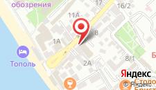 Гостиница Красная Гвоздика на карте