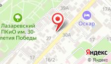 Гостиница Анюта на карте