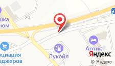 Отель Артик на карте