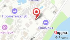 Гостиничный комплекс HOLIDAY на карте