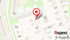 Гостевой дом на Октябрьской 39 на карте