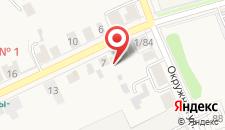 Гостиница Дом с мезонином на карте
