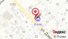Гостевой дом Азов на карте