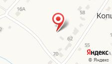 Гостиница Полет на карте