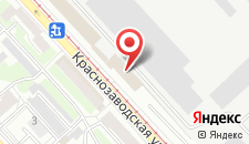 Гостиница Университетская на карте