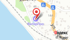 Гостиница ВатерЛоо на карте
