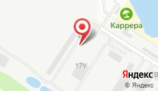 База отдыха Карьер на карте