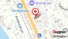Отель ВВВ на карте