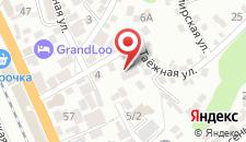 Отель Даниэль на карте