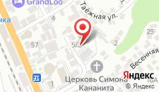 Гостиница МиЛоо на карте