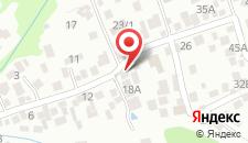 Гостиница АлеАндр на карте