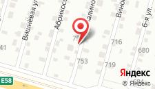 Мини-отель Фазенда на карте