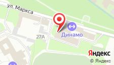 Гостиница Динамо на карте