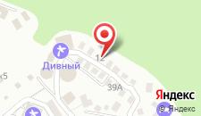 Спа-отель Русский Дом Дивный 43°39° на карте