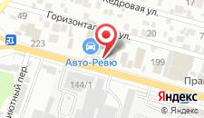 Гостиница Парус на карте