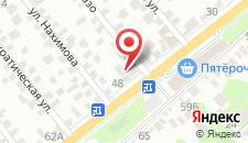 Гостиница Особняк на карте