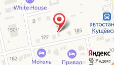 Гостевой дом На Щорса 185 на карте