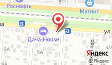 Гостиница Эдем на карте