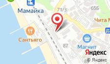 Отель Сон у моря на карте
